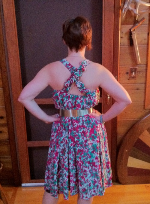 New Dress A Day - DIY - Summer Sundress - Goodwill