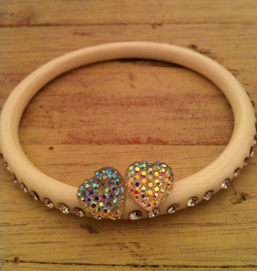 New Dress A Day - DIY - Giveaway - Rhinestone Bangle