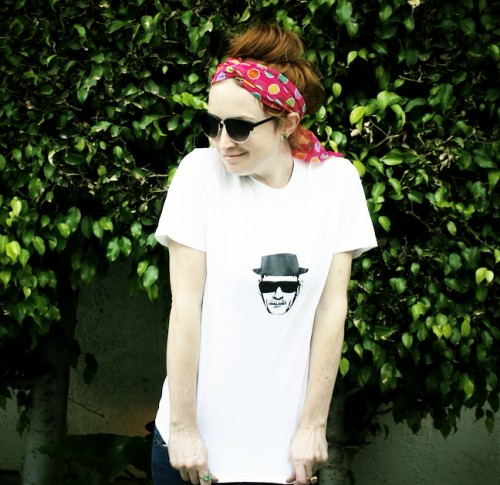 New Dress A Day - DIY - Breaking Bad - Heisenberg T-Shirt