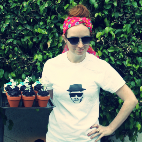 New Dress A Day - DIY - Breaking Bad Party - Cupcakes