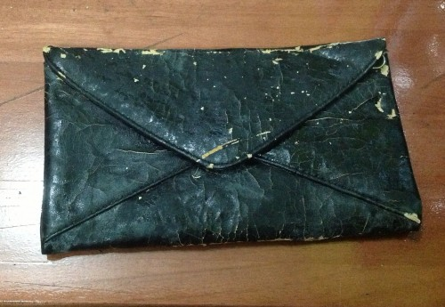 New Dress A Day - vintage clutch - DIY iPad Case