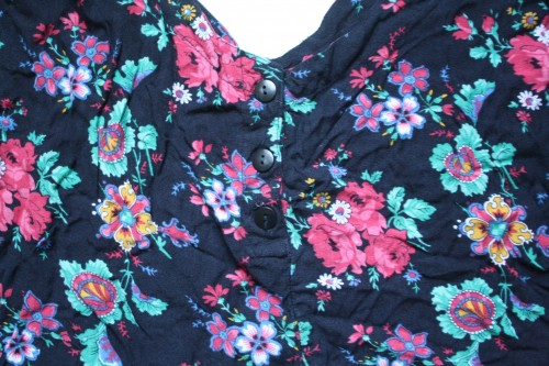New Dress A Day - vintage romper - thrift store shopping