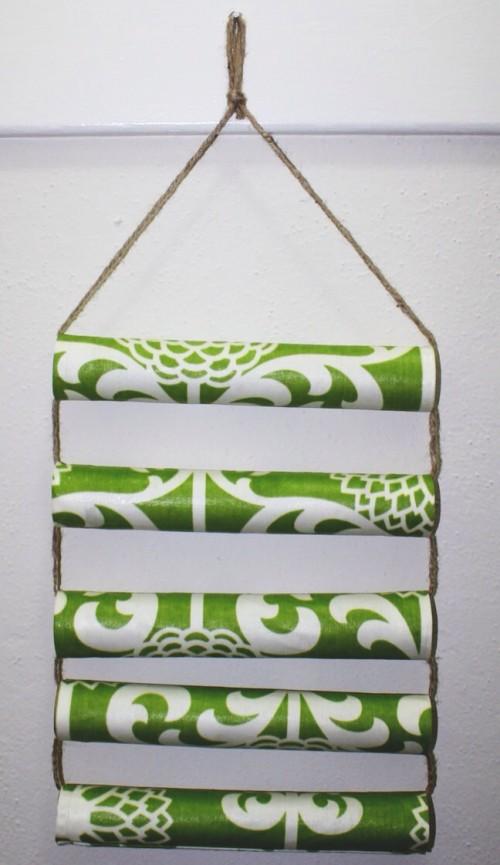 DIY Hanging Bracelet Organizer