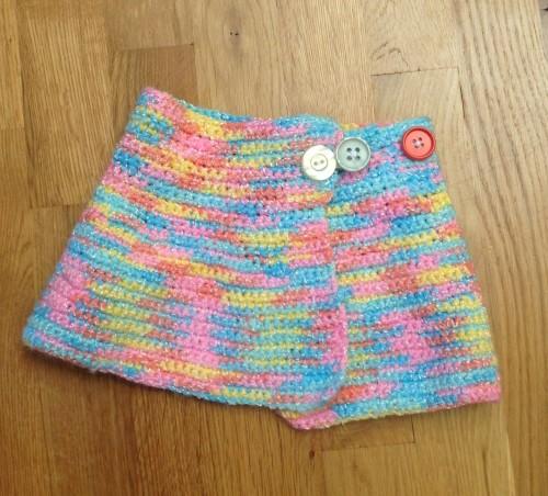 New Dress A Day - DIY - Knit Scarf