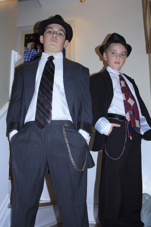 New Dress A Day - DIY Halloween Costume - 30s Gangsters