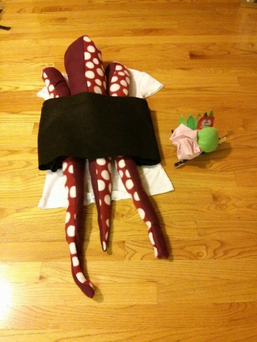 New Dress A Day - DIY Halloween - Sushi Costume