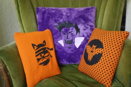 New Dress A Day - DIY - Halloween Painted Pillows - eHow