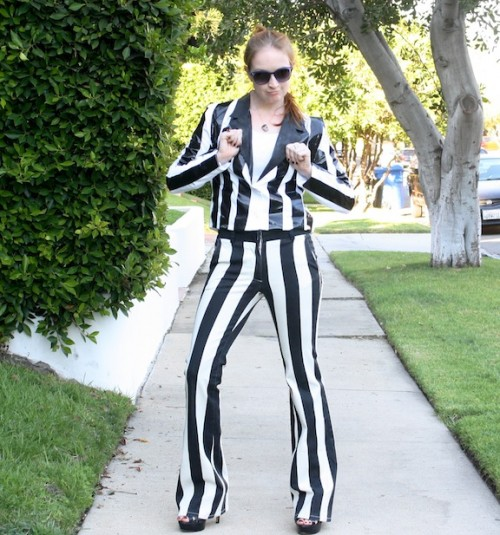 New Dress A Day - DIY - Halloween Costumes - Blurred Lines - Robin Thicke striped suit