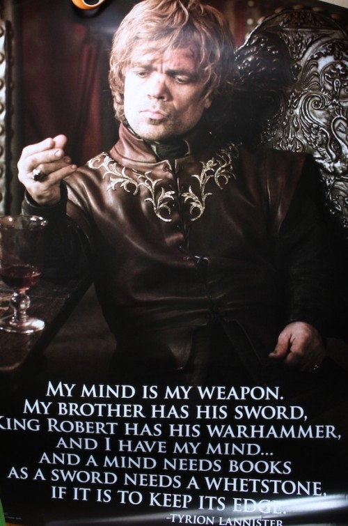 New Dress A Day - DIY - Halloween Costume - Tyrion Lannister Poster