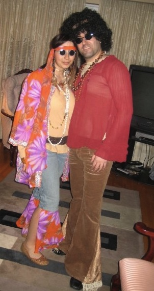 New Dress A Day - DIY Halloween Costumes - Sonny and Cher