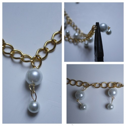 HelloGiggles - Two Broke Girls Pearl Necklace DIY - Jewelry