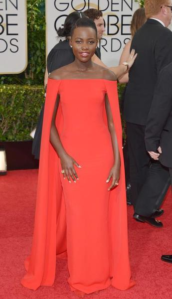 Golden Globe 2014 - Best Dressed - Lupita Nyong'o - Ralph Lauren