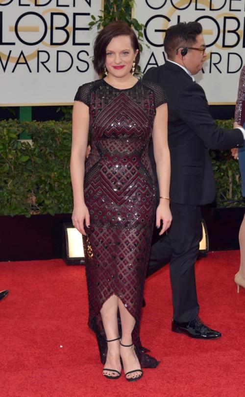Golden Globe 2014 - Best Dressed - Elisabeth Moss - J MendelGolden Globe 2014 - Best Dressed - Elisabeth Moss - J Mendel