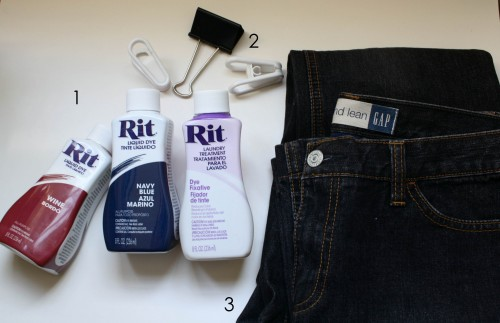 New Dress A Day - DIY - Hudson Jeans - Collin Brit Jeans