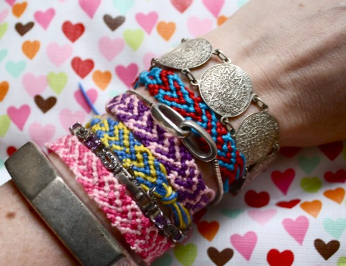 DIY Heart Friendship Bracelet - ehow - Marisa Lynch - Valentine's Day