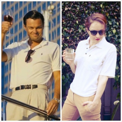 New Dress A Day - 90s Polo shirt - vintage Ralph Lauren - Wolf of Wall Street Costumes