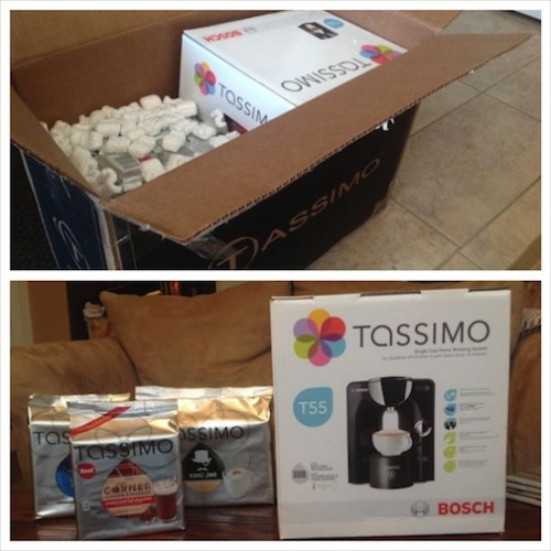 Tassimo and T Discs, newdressaday giveaway