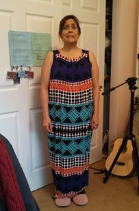 New Dress A Day - DIY -  Aztec Pattern Dress - Upcycled