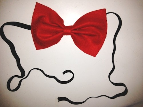 New Dress A Day - bow tie - DIY - Mr. Peabody & Sherman