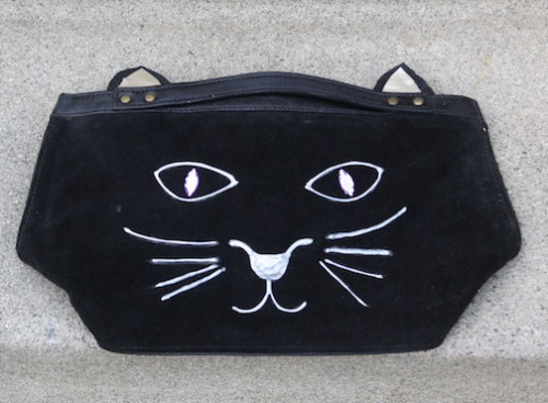 New Dress A Day - DIY - Charlotte Olympia Cat Clutch Copycat
