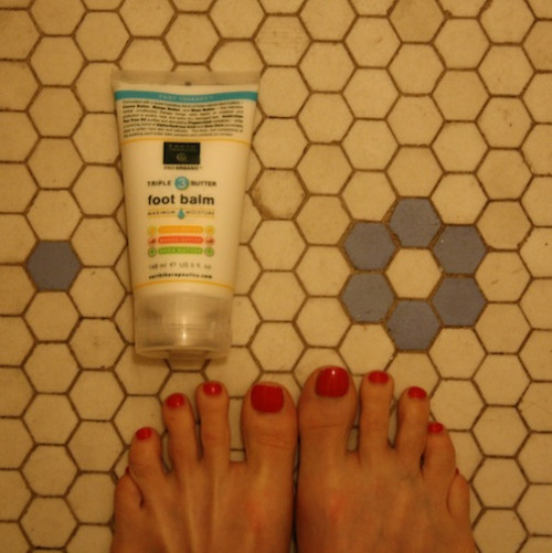 New Dress A Day - DIY - foot balm - Earth Therapeudics. - Earth Day Product Favorites