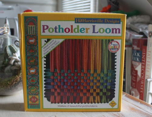 New Dress A Day - Uncommon Goods Giveaway - DIY - Potholder Loom