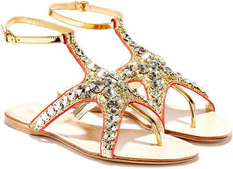 Miu Miu Starfish Sandals DIY - New Dress A Day - Copycat