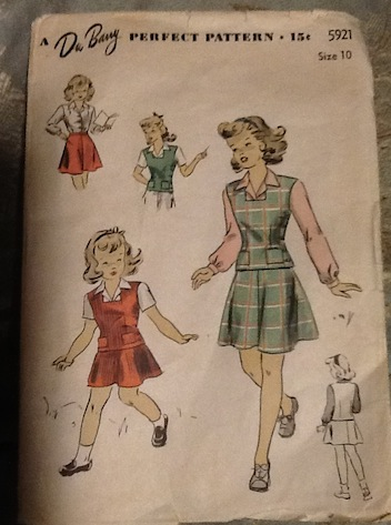 New Dress A Day - DIY - how to sew a dress - vintage pattern - DuBarry