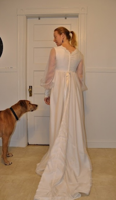 New Dress A Day - Vintage Wedding Dress