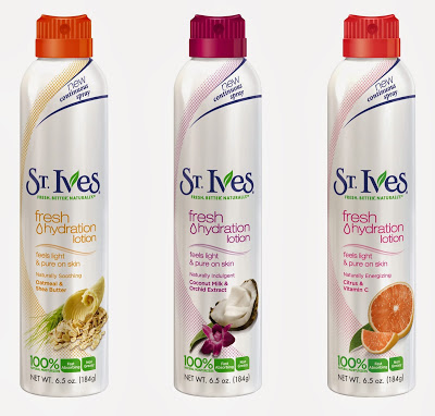 New Dress A Day - St. Ives Hydration Lotions