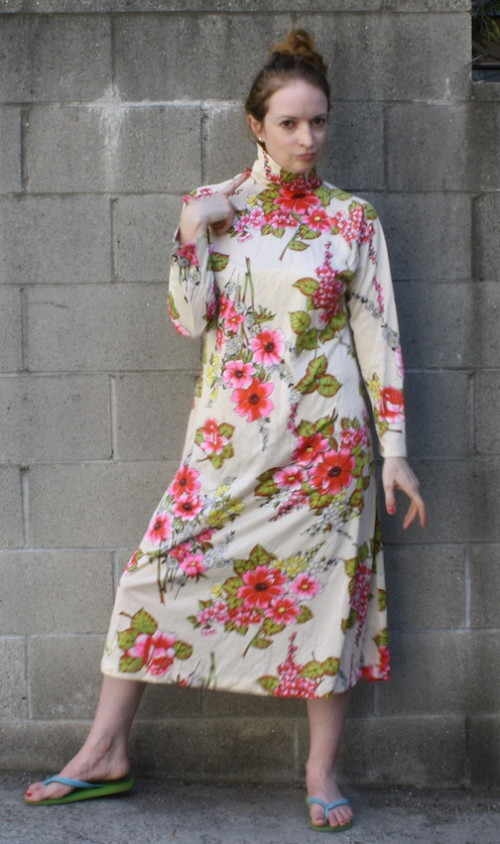 New Dress A Day - vintage muumuu