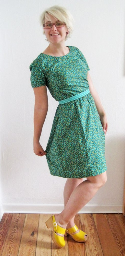 New Dress A Day - vintage upcycled dress