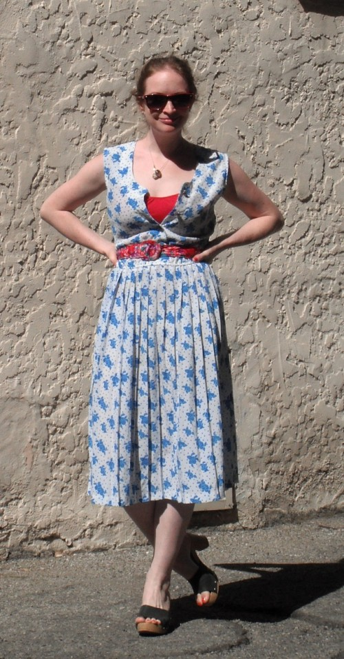 New Dress A Day - DIY - Vintage Dress