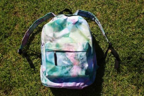 DIY - Tie Dyed Backpack