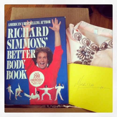 Vintage Richard Simmons Book - New Dress A Day
