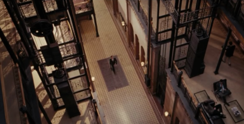 500 Days of Summer - shooting location - Bradbury Building