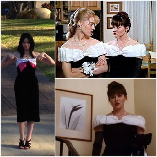 Beverly Hills, 90210 - Matching dresses