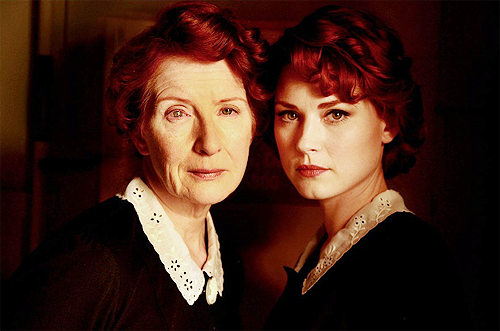 American Horror Story - Frances Conroy and Alexandra Breckinridge