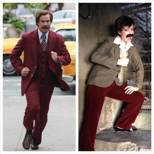 Anchorman - Will Ferrell suit