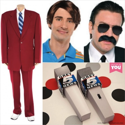 Anchorman - costume supplies