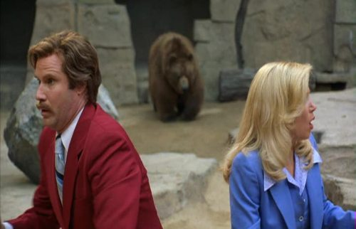 Anchorman - Will Ferrell and Christina Applegate