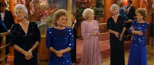 GOLDEN GIRLS - SHOOTING LOCATION - COSTUME