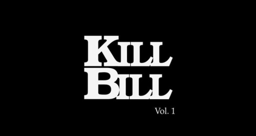 Kill Bill Title Card