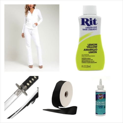 Kill Bill - Uma Thurman DIY Costume Supplies