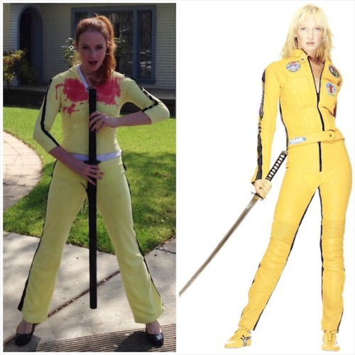 Kill Bill - Uma Thurman DIY Costume - The Bride