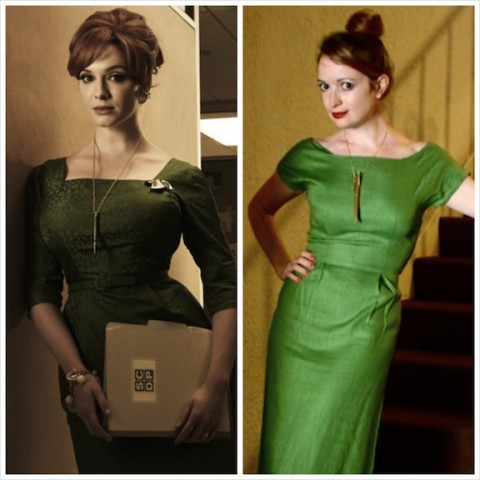Mad Men - Joan Holloway DIY Costume