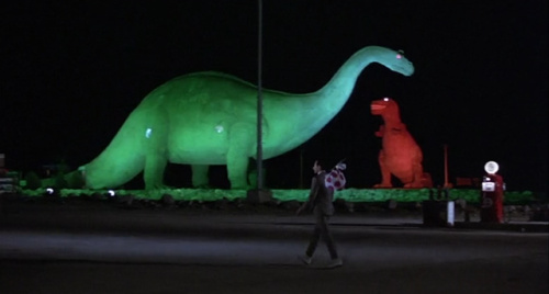Pee Wee's Big Adventure - Cabazon Dinos
