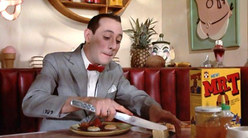 Pee Wee's Big Adventure - Big Knife