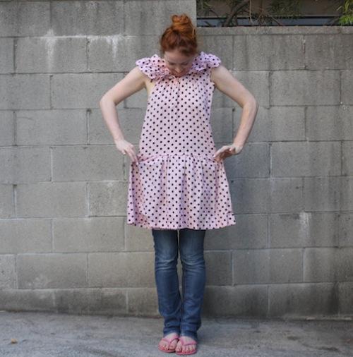 Vintage Shirt - Polka dots