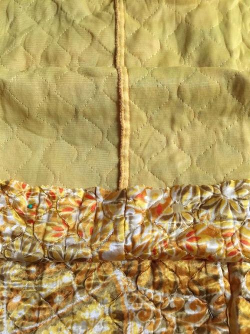 New Dress A Day - vintage mustard dress
